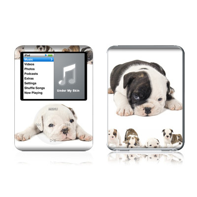 iPod nano (3G) Skin - Lazy Days