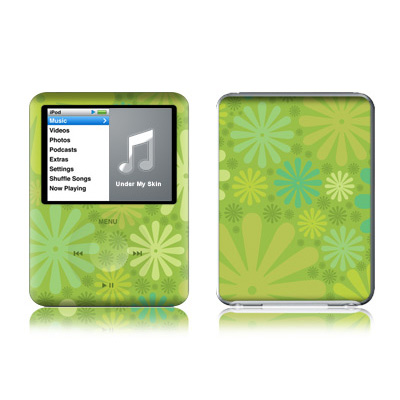 iPod nano (3G) Skin - Lime Punch