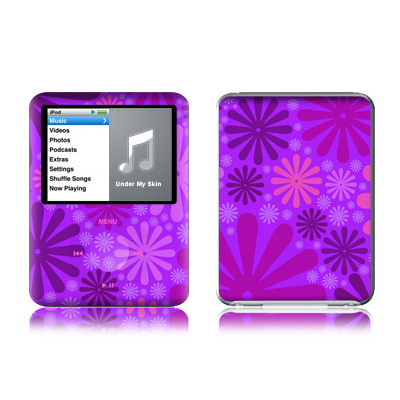 iPod nano (3G) Skin - Purple Punch