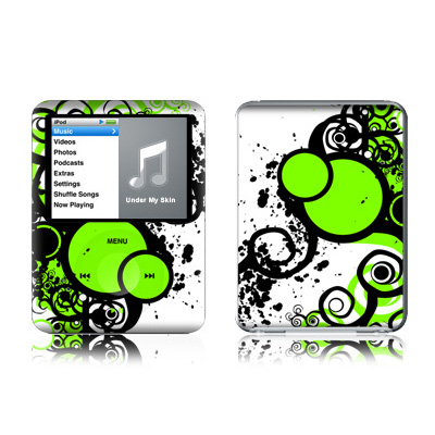 iPod nano (3G) Skin - Simply Green
