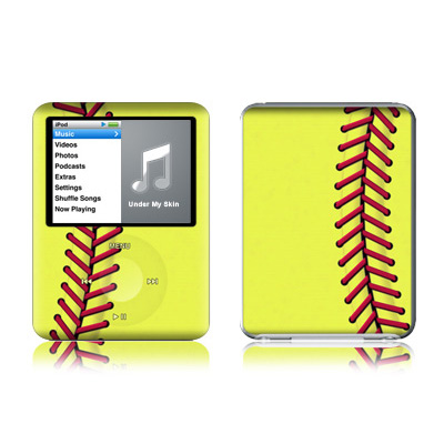 iPod nano (3G) Skin - Softball