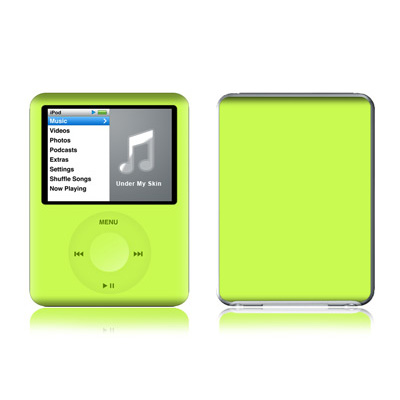 iPod nano (3G) Skin - Solid State Lime