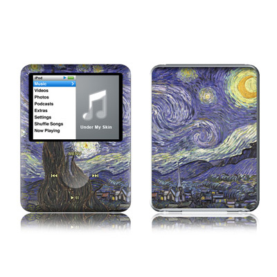 iPod nano (3G) Skin - Starry Night