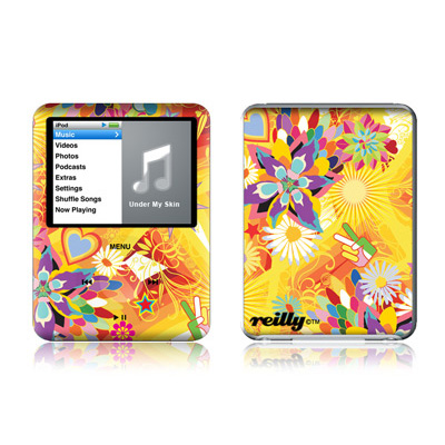 iPod nano (3G) Skin - Wall Flower