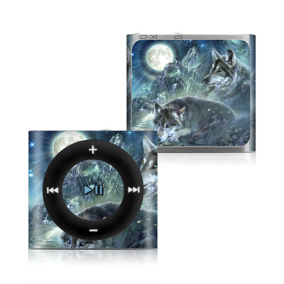 Apple iPod Shuffle 4G Skin - Bark At The Moon