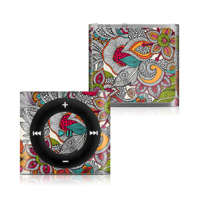 Apple iPod Shuffle 4G Skin - Doodles Color