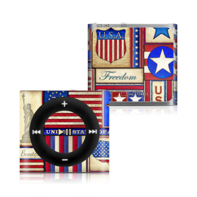 Apple iPod Shuffle 4G Skin - Flag Patchwork