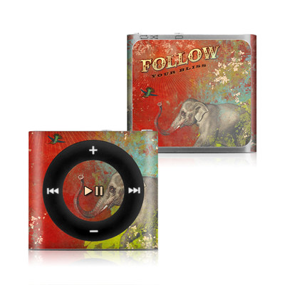 Apple iPod Shuffle 4G Skin - Follow Your Bliss