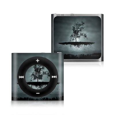Apple iPod Shuffle 4G Skin - Flying Tree Black