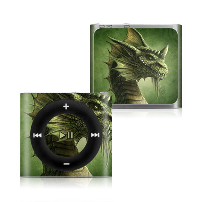 Apple iPod Shuffle 4G Skin - Green Dragon