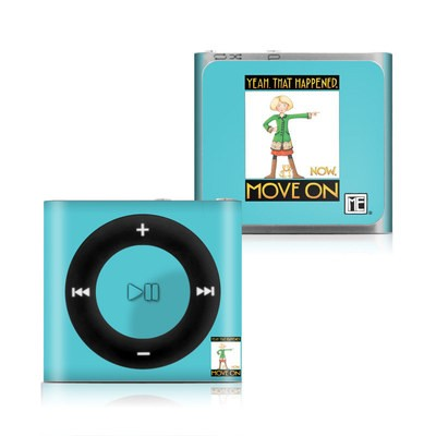 Apple iPod Shuffle 4G Skin - Move On