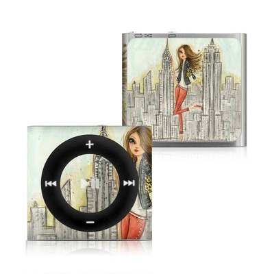 Apple iPod Shuffle 4G Skin - The Sights New York