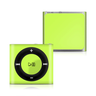 Apple iPod Shuffle 4G Skin - Solid State Lime