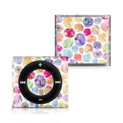 Apple iPod Shuffle 4G Skin - Watercolor Dots