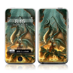 iPod Touch Skin - Dragon Mage