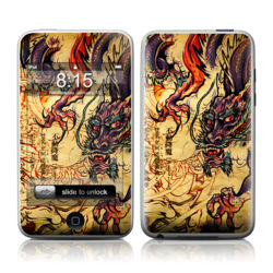 iPod Touch Skin - Dragon Legend