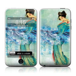 iPod Touch Skin - Magic Wave