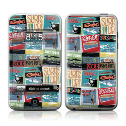 iPod Touch Skin - Surf Sounds