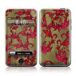 iPod Touch Skin - Vintage Scarlet