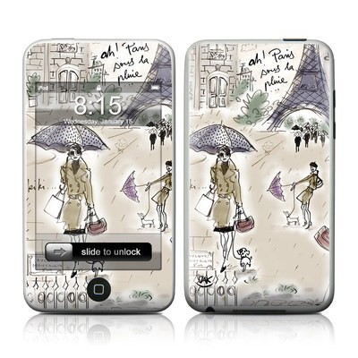 iPod Touch Skin - Ah Paris