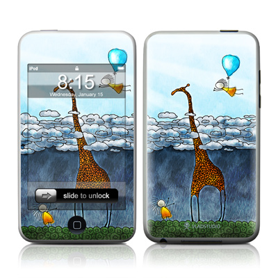 iPod Touch Skin - Above The Clouds