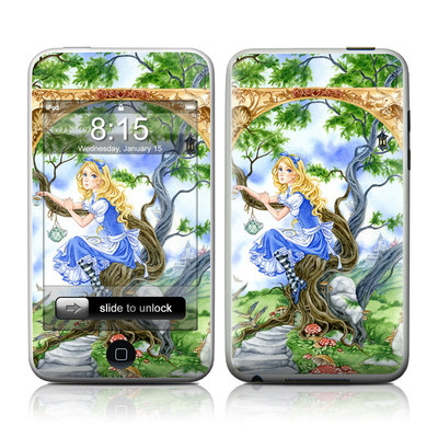 iPod Touch Skin - Alice's Tea Time