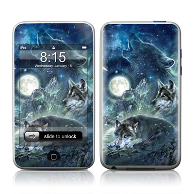 iPod Touch Skin - Bark At The Moon