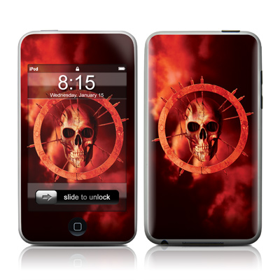 iPod Touch Skin - Blood Ring