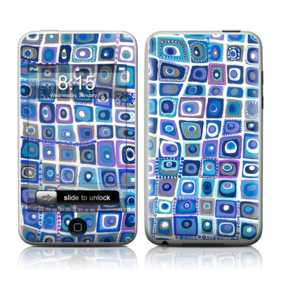 iPod Touch Skin - Blue Monday