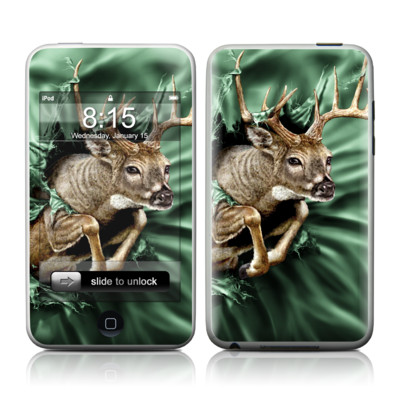 iPod Touch Skin - Break Through Deer