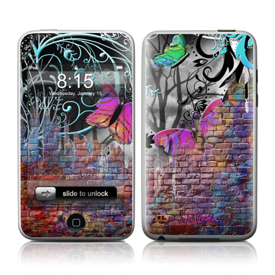 iPod Touch Skin - Butterfly Wall