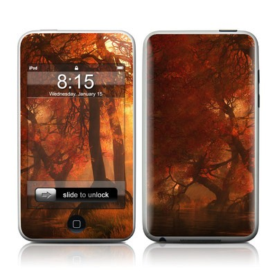 iPod Touch Skin - Canopy Creek Autumn