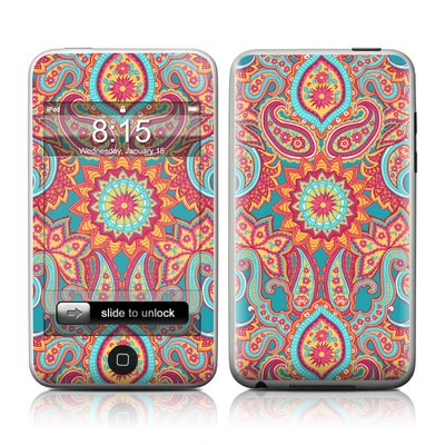 iPod Touch Skin - Carnival Paisley