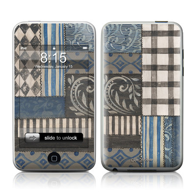 iPod Touch Skin - Country Chic Blue