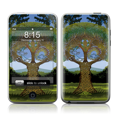 iPod Touch Skin - Celtic Tree
