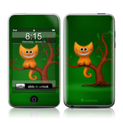 iPod Touch Skin - Cheshire Kitten