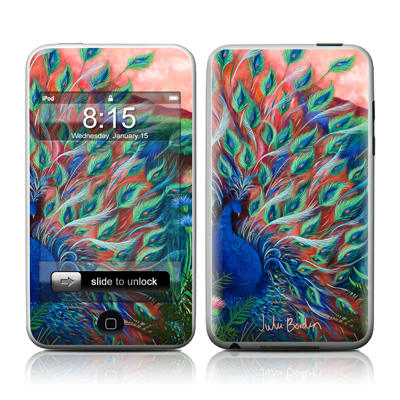 iPod Touch Skin - Coral Peacock