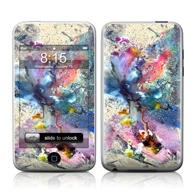 iPod Touch Skin - Cosmic Flower