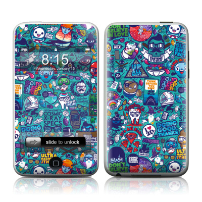 iPod Touch Skin - Cosmic Ray