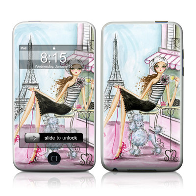 iPod Touch Skin - Cafe Paris