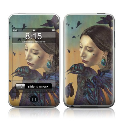 iPod Touch Skin - Crow Maiden