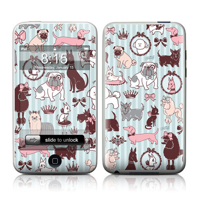 iPod Touch Skin - Doggy Boudoir