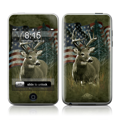 iPod Touch Skin - Deer Flag
