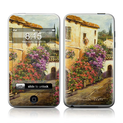 iPod Touch Skin - Via Del Fiori
