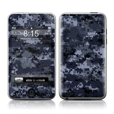 iPod Touch Skin - Digital Navy Camo