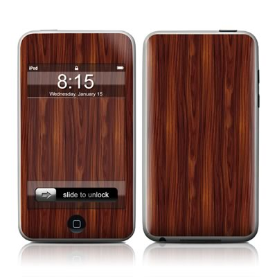 iPod Touch Skin - Dark Rosewood