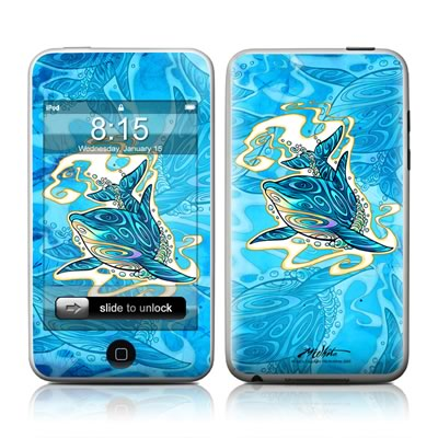 iPod Touch Skin - Dolphin Daydream