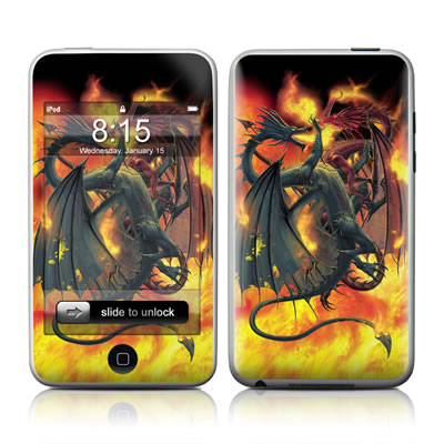 iPod Touch Skin - Dragon Wars