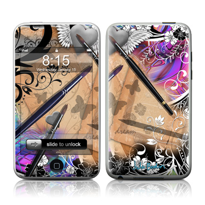 iPod Touch Skin - Dream Flowers