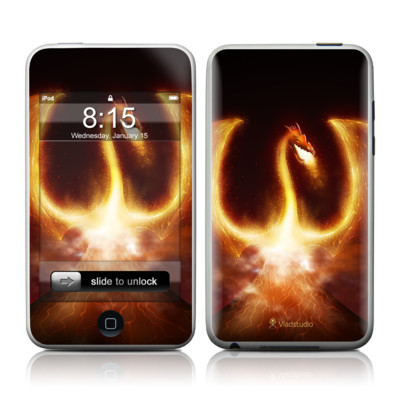 iPod Touch Skin - Fire Dragon